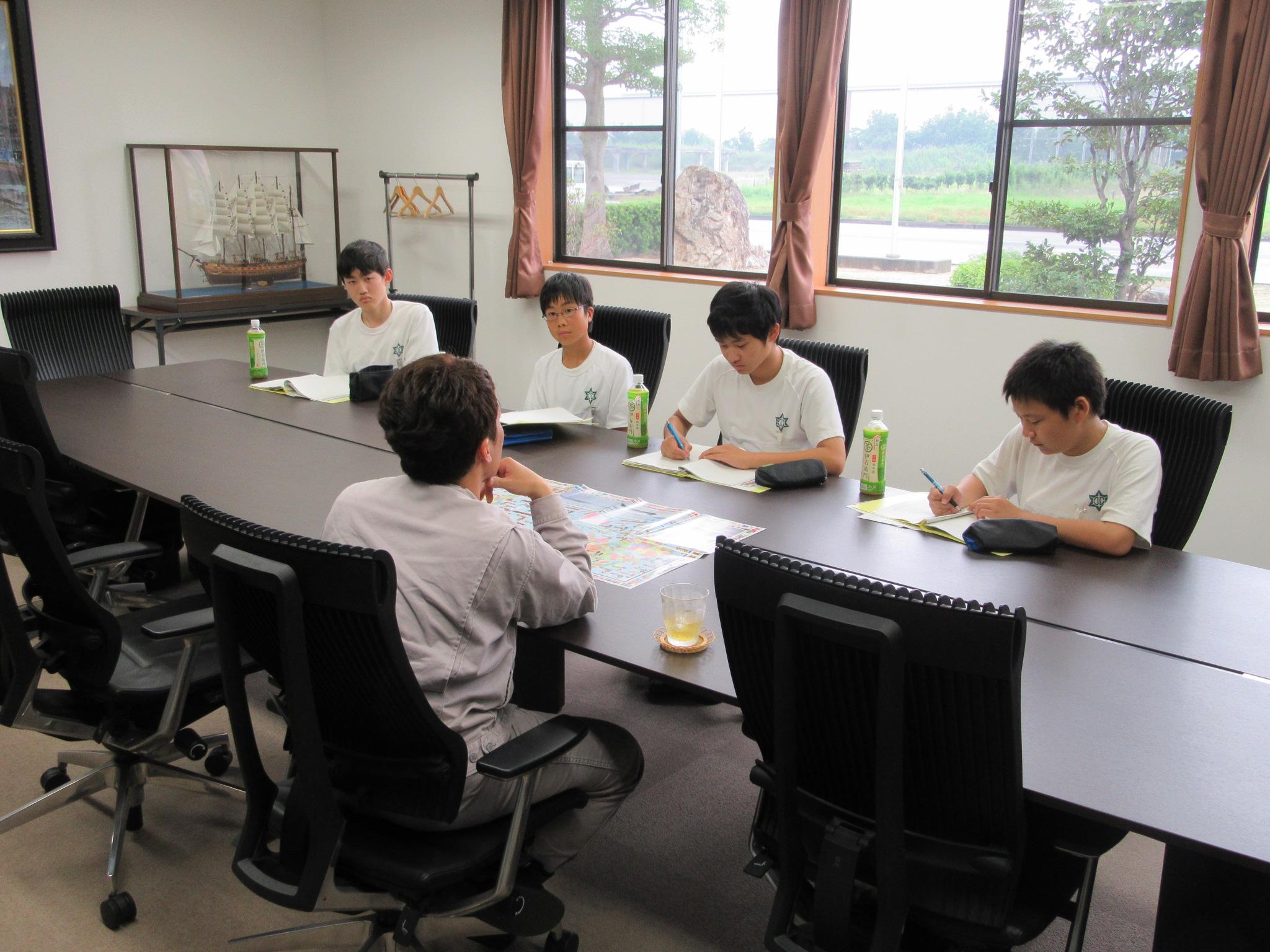 北郷中学校インターンシップ